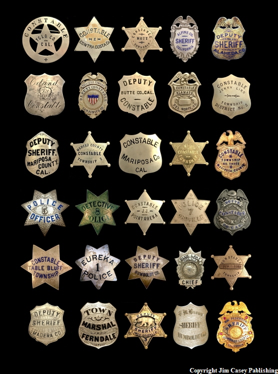 Badges of America's Finest 3 Print 750