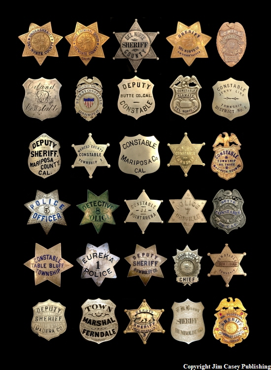 Badges of America's Finest 3 DelN Print 750
