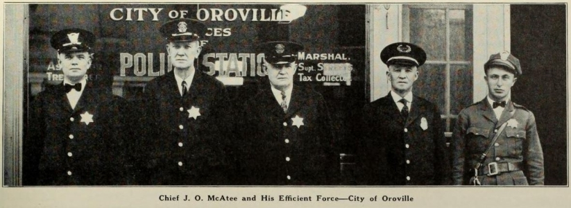 Oroville PD 1930