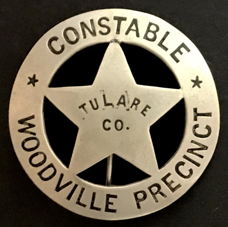 Tulare Co Constable Woodville