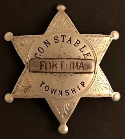 Constable Fortuna Township.