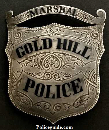 Gold Hill Marshal Badge450s