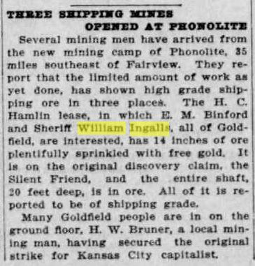 Goldfield News 22 Dec 1906 p5