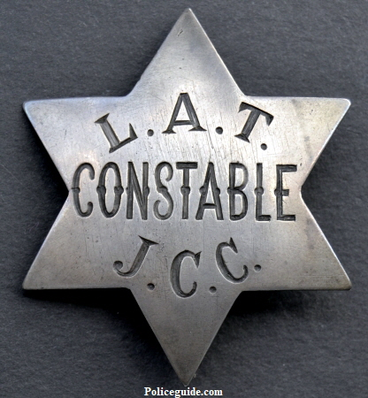 John C. Cline was elected Constable of the Los Angeles Township in 1884.