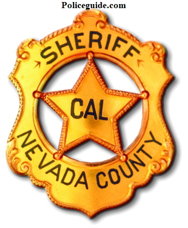 "14k gold Sheriff of Nevada Co. Cal. Presented to George R. Carter who was elected Sheriff in 1927.  This badge is pictured in Witherell's book, ""California's Best"" on page 27 and in Jim Casey's book, ""Badges of America's Finest"" ."