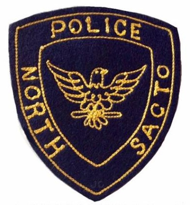 North Sacramento Police Department, 1st issue shoulder patch.