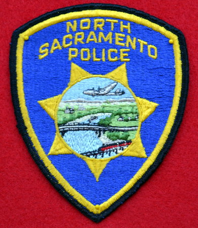 North Sacramento Police 2nd issue Patch.