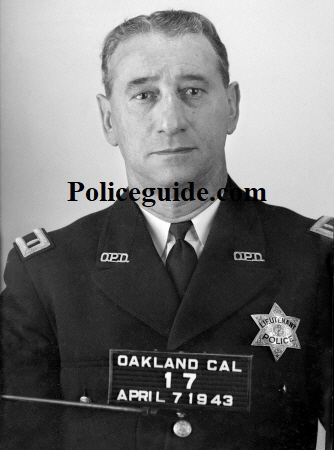 Appointed May 9, 1927 to the Oakland Police Department George W. Pratt rose to the rank of Lieutenant.