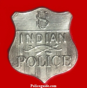 US Indian Police Badge300