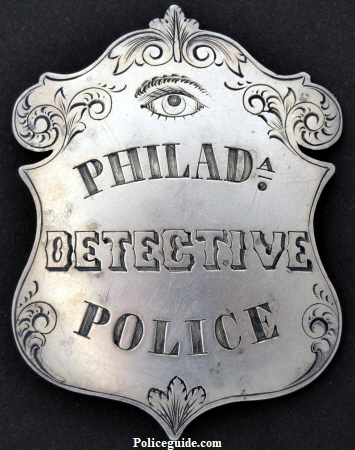 The Detective Department, as a distinctive branch of the Philadelphia Police system, was organized, October 28, 1859.