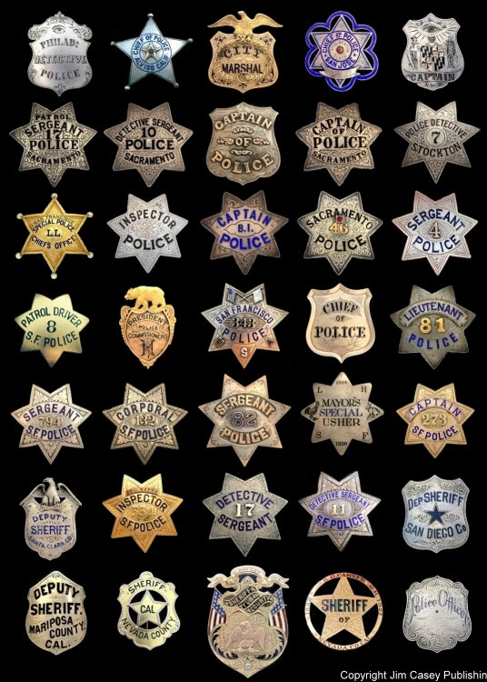 Badges of America's Finest Poster 20x30