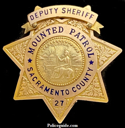Sac Co Mounted Patrol 27-450