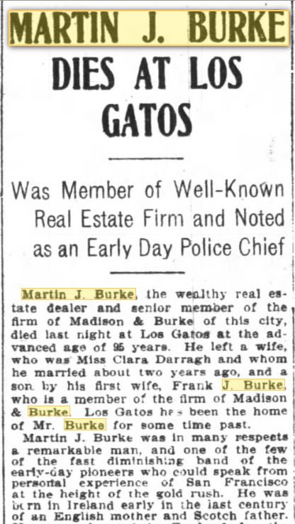 March 21 1906 SF Chronicle Obit