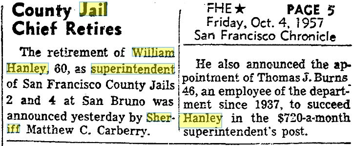04Oct1957HanleyRetires