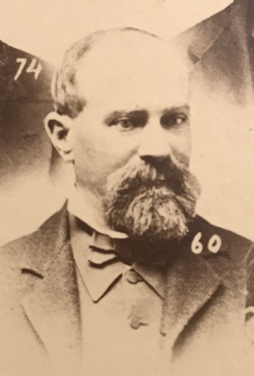 William Sexton, California Pioneer who served as Sheriff of Placer County before moving to San Jose where he served as City Marshal.