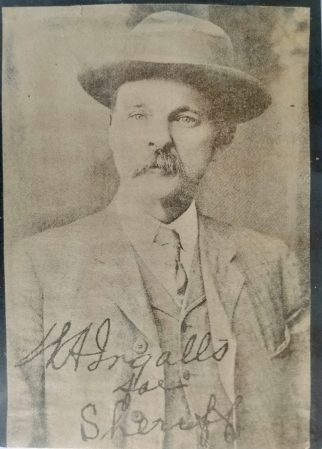 Sheriff Ingalls, 1st Sheriff of Esmeralda County.