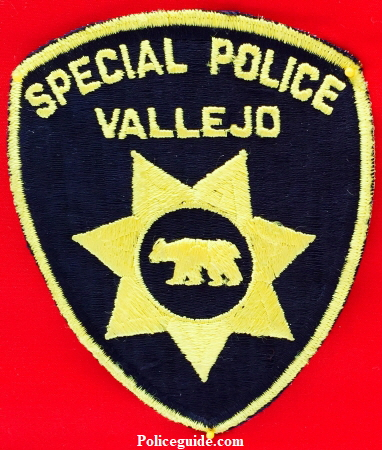 Vallejo Special Police Patch