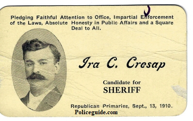 Cresap for Sheriff