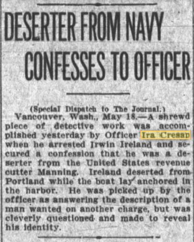 Oregon Daily Journal 18 May 1910