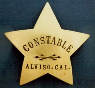 J. L. Mayne served as Marshal of Alviso and then Chief of Police but he was also the Constable of Alviso.